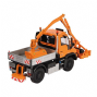 NZG Mercedes Benz Unimog U400 MKM 700 Combination mower